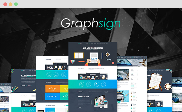 Graphsign - Onepage Corporate Business