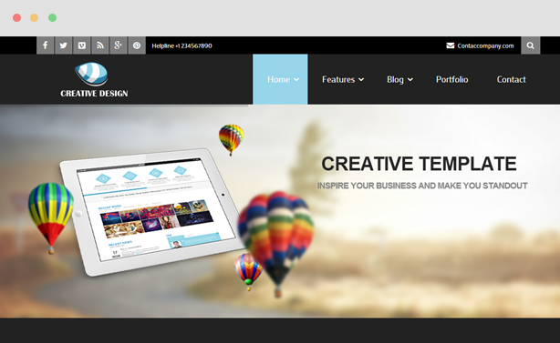 Creative - Corporate Joomla Template