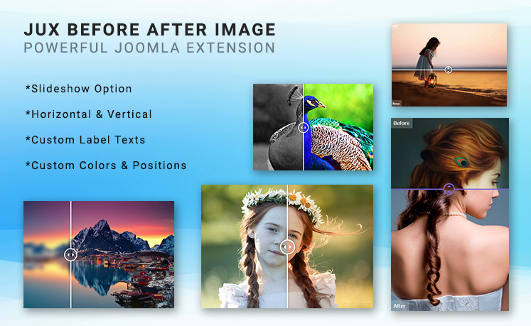 JUX Before After - Responsive Joomla Extensions