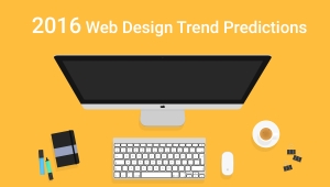 2016 Web design trend predictions