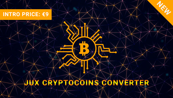 Six Fascinating Features of JUX Cryptocoins Converter