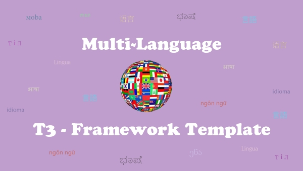 How to create multi-language for T3 Framework template?