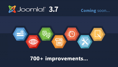 [Hot News] Joomla 3.7 is Coming Soon!