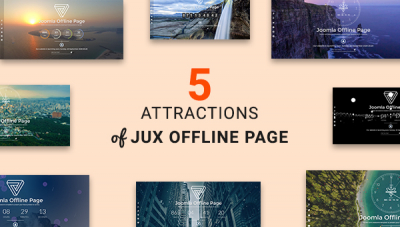 [New Release] Five Attractions of JUX Offline Page You Must Explore