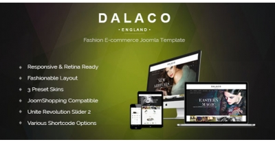 Dalaco - Fashion e-Commerce Joomla Template