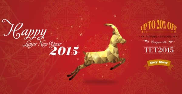 Lunar New Year is Coming! Enjoy the moments with 20% Discount