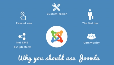 5 Reasons To Use Joomla In Your Next Project