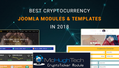 Best Joomla CryptoCurrency Modules and Templates in 2018