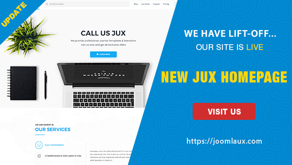[RELEASE] New Interface - New Experience - It's JoomlaUX new site!