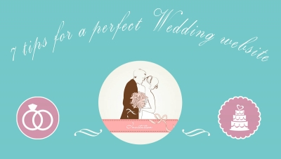 7 tips for a perfect wedding website