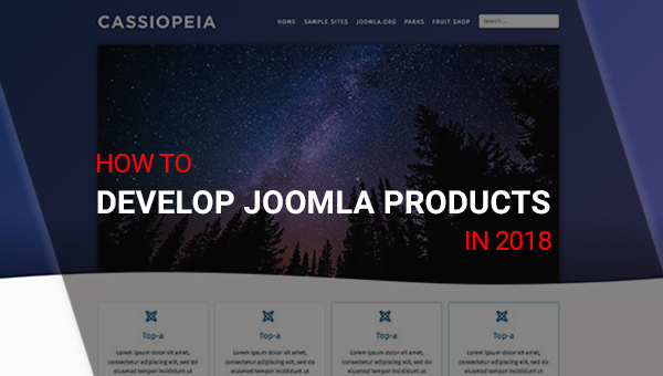 5 Things You Must Note to Develop Joomla Products in 2018