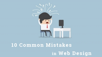 The 10 common mistakes in website design