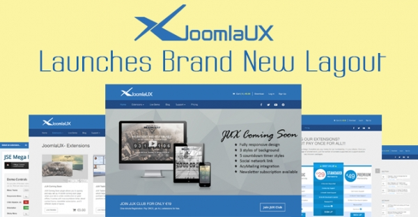 [Announcement] JoomlaUX launches brand new layout on October 8th 2014