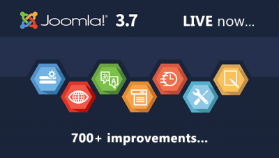 Joomla! 3.7 is HERE!