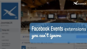 What are outstanding Joomla Facebook Events extensions?