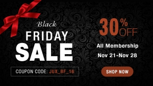 [Promotion] Enjoy Black Friday with 30% DISCOUNT from JoomlaUX