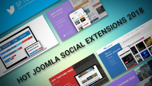 Best Joomla Social Extensions Will Rock Your Joomla Site in 2018