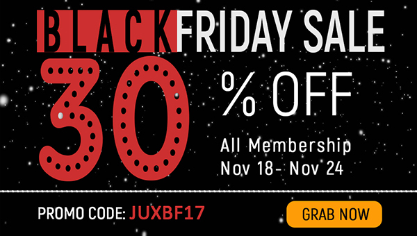Hot Black Friday Sale - 30% Discount on All Membership Packages