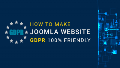 How to make Joomla Website GDPR 100% Friendly
