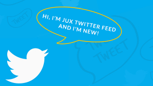 The Wait is Over! JUX Twitter Feed  is Here.