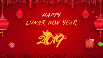Happy Lunar New Year 2019!
