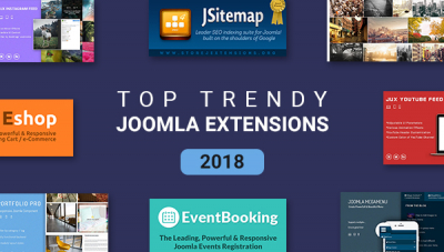 Best Joomla Extensions Keeping the Right Trend in 2018