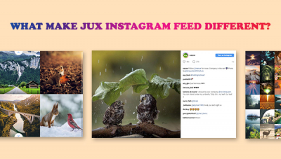 What make JUX Instagram Feed Be Different?