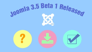 Joomla 3.5 Beta 1 released - What are we expecting from Joomla 3.5?