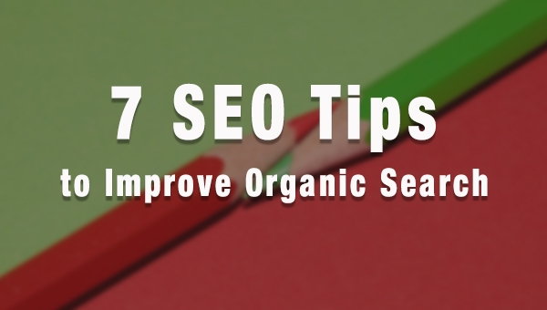 7 Actionable SEO Tips To Improve Organic Search