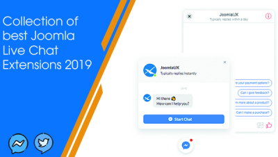 Top 10 Best Joomla Live Chat Extensions in 2019