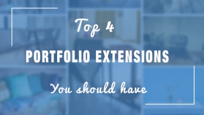 The top 4 Portfolio Extensions your site should include